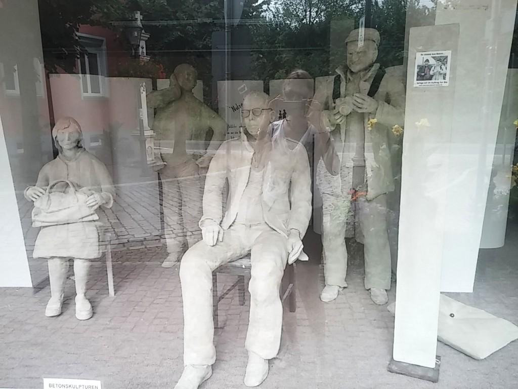 Betonskulpturen von Paul Bode