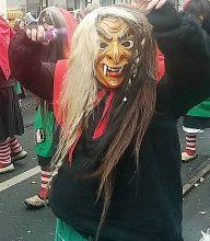 Traditionelle Masken…