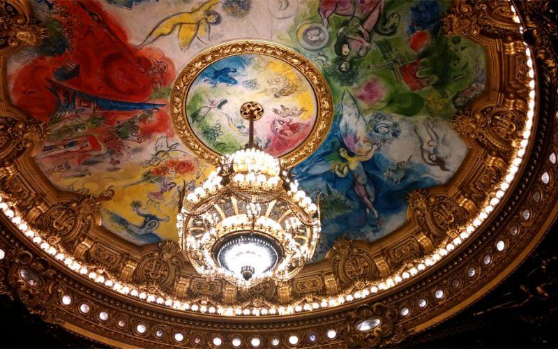 Deckengemälde in der Oper von Chagall_©RosiKmitta