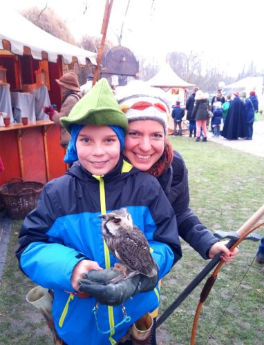 Süßer Kauz begeistert große und kleine Besucher_©RosiKmitta