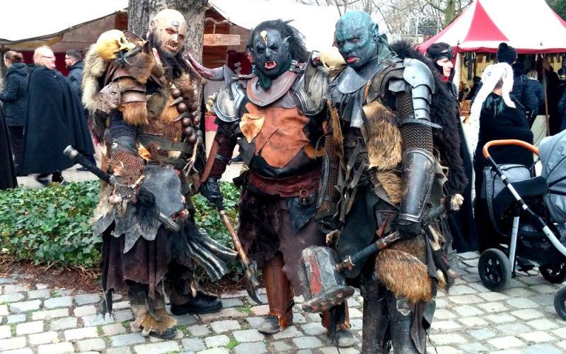 Uaaaaah…Orks auf dem mittelalterlichen Jahrmarkt_©RosiKmitta