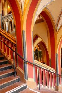 Treppenhaus im Rathaus©RosiKmitta