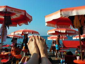 Wie die Ölsardinen am Strand (©RosiKmitta)