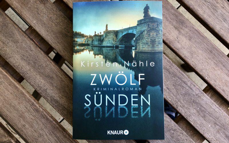 """Kriminalroman """"12 Sünden"""" von Kirsten Nähle"""